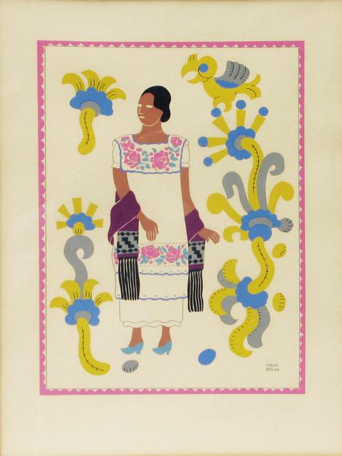 , 'Sin título (mujer indígena oaxaqueña),' , Oscar Roman