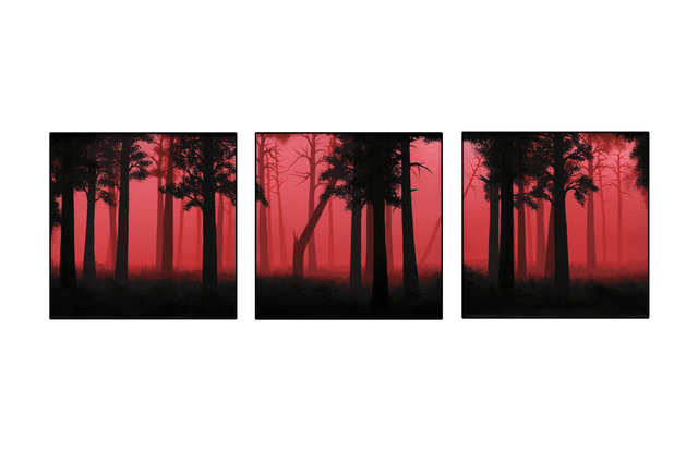 , 'The Burning (Triptych),' 2009, Tanner Gallery & Studio
