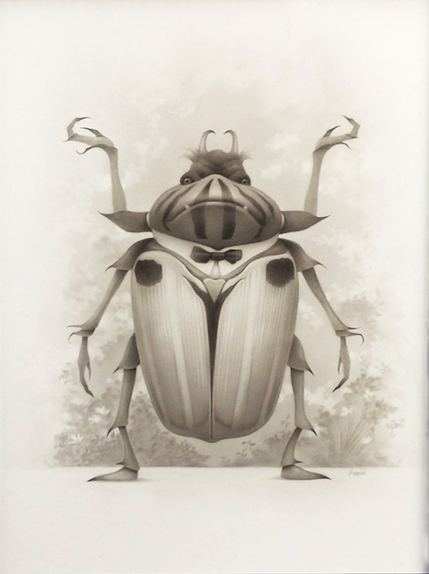 , 'Fancy Goblin in Beetle Disguise,' 2015, William Baczek Fine Arts