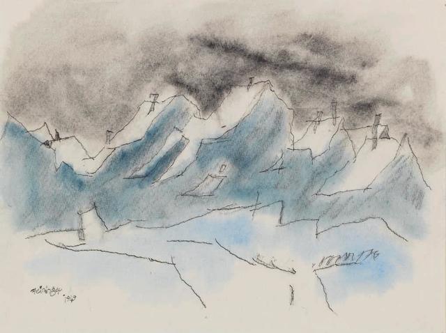 , 'Snow,' 1949, Osborne Samuel