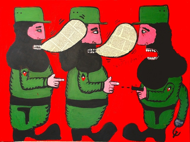 , 'La Batalla de Ideas (The Battle of Ideas),' 2009, El Museo del Barrio
