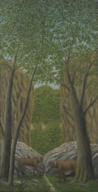 , 'Tigres dans la Forêt,' 1925, Jeanne Bucher Jaeger