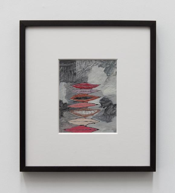 , '7 Mouths (White),' 2015, Tatjana Pieters