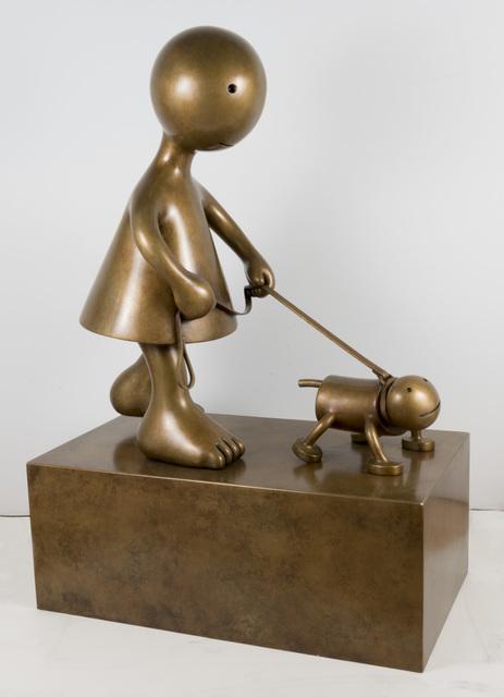 , 'Dog Walker,' 2017, Marlborough Gallery
