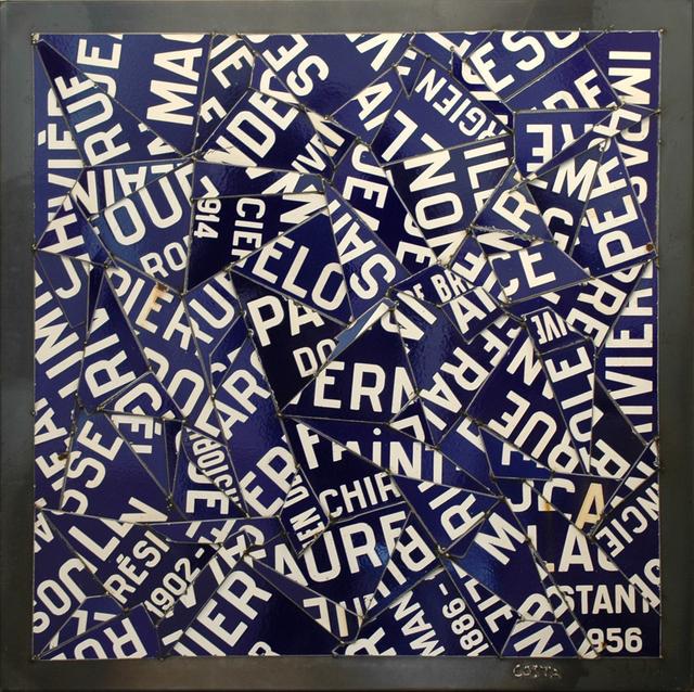 , 'Rues de Brive Bleu,' 2017, Galerie Art Jingle