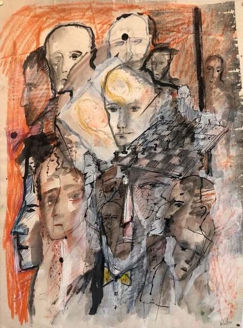 Zwy Milshtein, 'Untilted', 20th Century, Lions Gallery