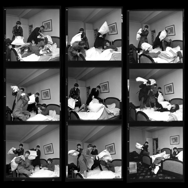 , 'Pillow Fight x 9 - Beatles 40th Anniversary Photograph,' 1964, Holden Luntz Gallery