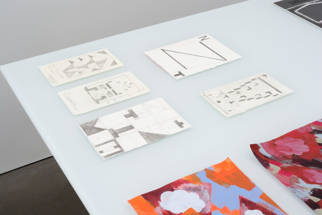 Five drawings by Brian Edmonds at PROTO GOMEZ.