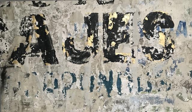 Alfredo Romero, 'Paisajes', 2019, Mixed Media, Strappo, Gold Leaf, Mixed Media on Cotton Canvas, Simard Bilodeau Contemporary