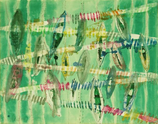 ", '""String of lights"",' 1990, Krokin Gallery"