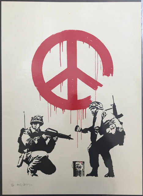 Banksy, 'CND Soldiers (Signed)', 2005, Prescription Art