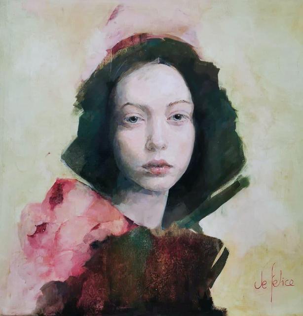 , 'Portrait de femme I,' 2020, Galerie Calderone