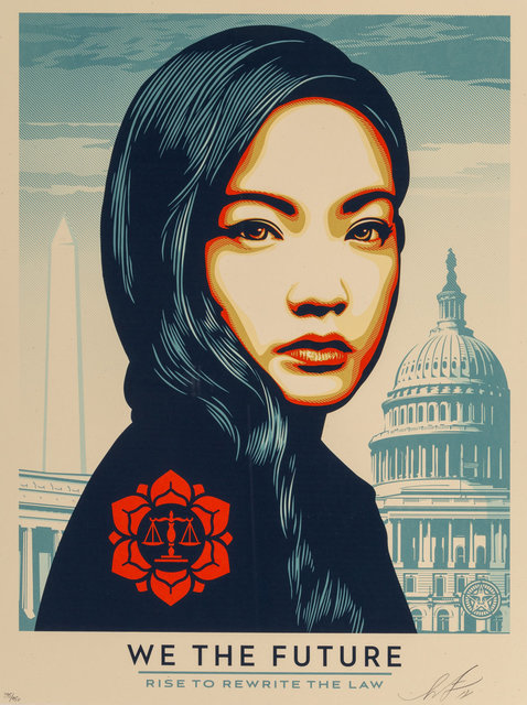Shepard Fairey, 'Untitled, from We The People', 2018, Heritage Auctions