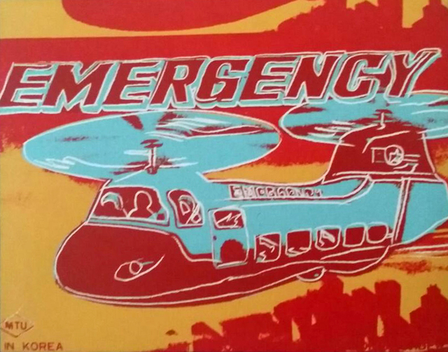 , 'Emergency Helicopter (Toy Series),' 1983, Andipa Gallery
