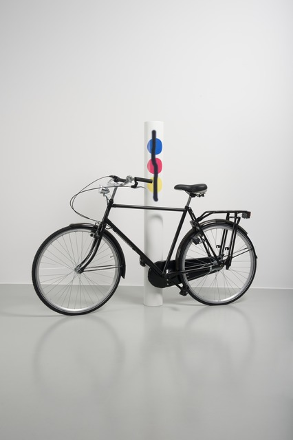 , 'Untitled (Bike/primary aerosol),' 2012, TORRI