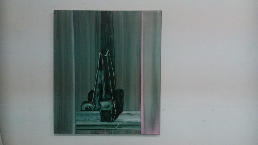 Painting by Sander van Deurzen.