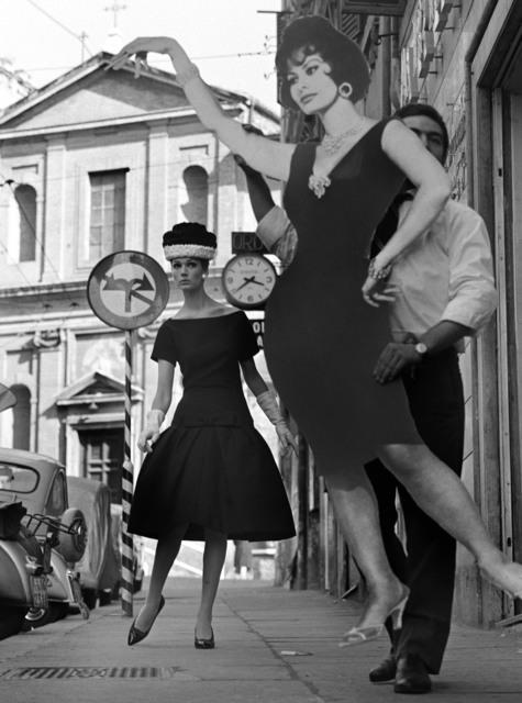 , 'Simone + Sophia Loren, Rome,' 1960, Galerie de la Béraudière