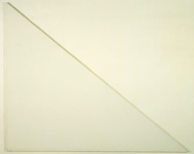 , 'Unfinished Painting (The Sail),' 1970, The Menil Collection