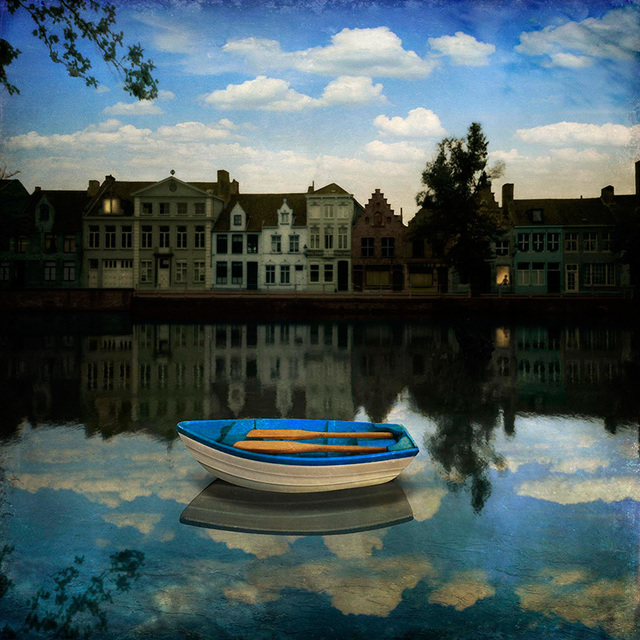 Maggie Taylor, 'Small boat waiting', 2012, photo-eye Gallery
