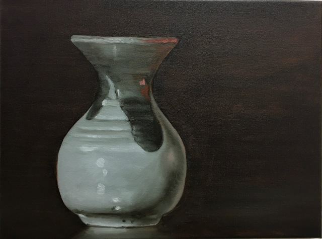 Stephen Peirce, 'Vase', 2018, Painting, Oil on canvas, Mark Hachem Gallery