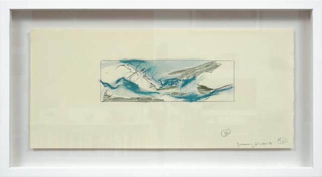 , 'Étude II (L'écume de terre),' 2017, Newzones