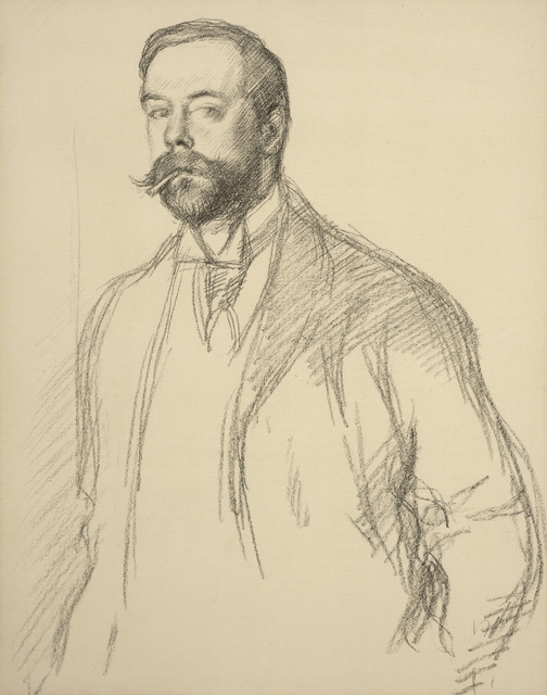 William Rothenstein, 'John Singer Sargent', 1897, Print, Lithograph, Ben Uri Gallery and Museum