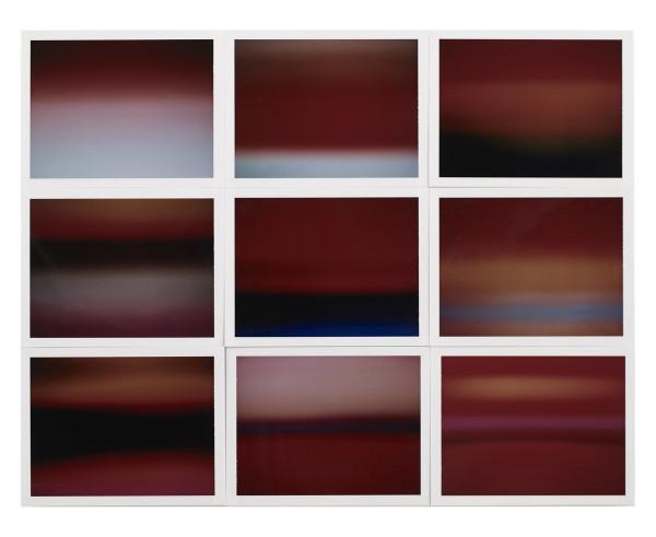 , 'Horizon, étude couleur #9,' 2015, Galerie Thierry Bigaignon