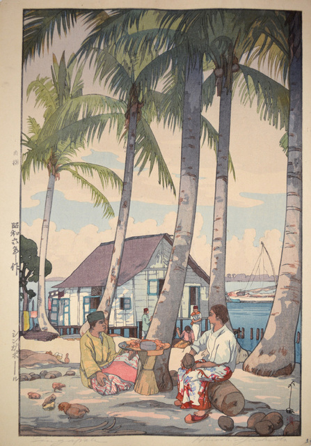, 'Singapore,' 1931, Ronin Gallery