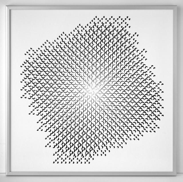 , 'Pinhole Structure 3.8.14 F 2.5,' 1967, SCHEUBLEIN + BAK