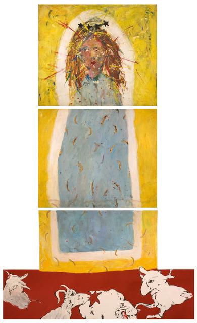 , 'Madonna con cabrito,' 1982, Abate Galería