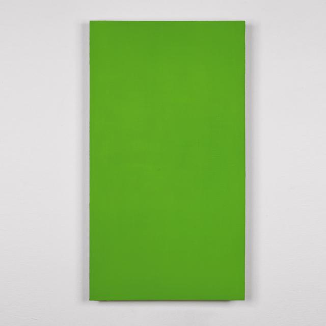 , 'Ohne Titel (verde),' 2010, A arte Invernizzi