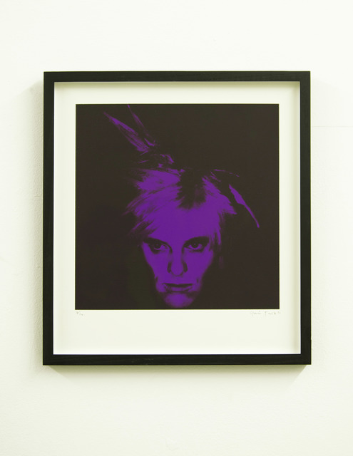 , 'Fright Wig (Purple),' 2010, Paul Stolper Gallery