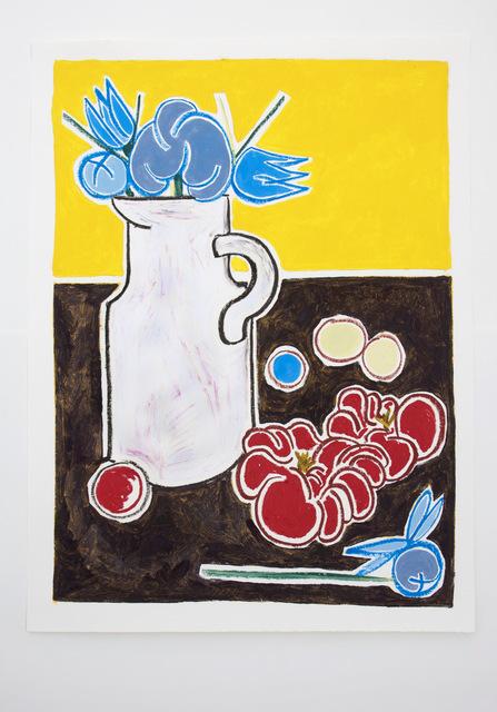 , 'Peonies and tomatoes,' 2018, Schönfeld Gallery