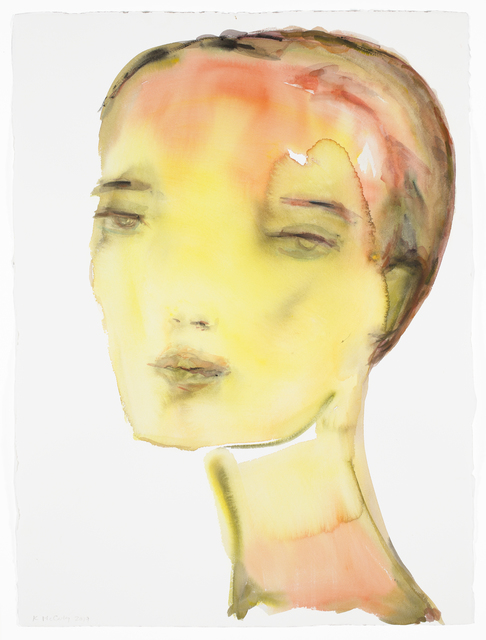 , 'Yellow/Orange Portrait,' 2019, David Klein Gallery