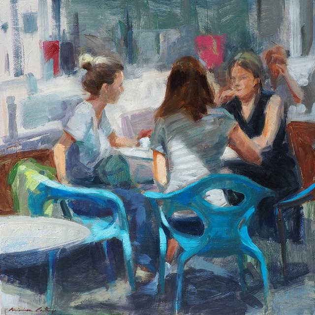 , 'Converses,' 2018, Anquins Galeria