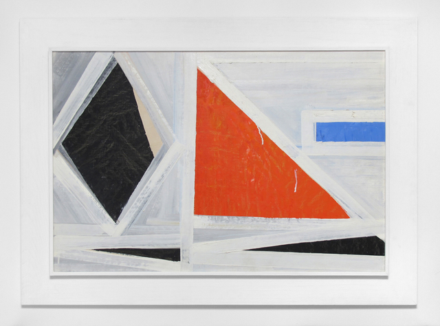, 'Untitled (red triangle),' 1953, Inman Gallery