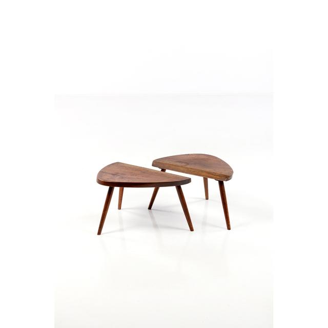 George Nakashima, 'Pair Of Side Tables', 1962, PIASA
