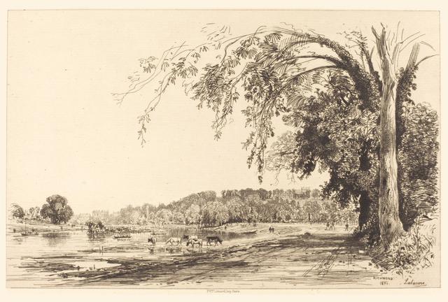 Maxime Lalanne, 'Richmond', 1871, Hans den Hollander Prints