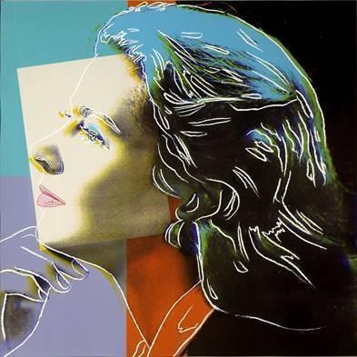 Andy Warhol, 'Herself, from: Ingrid Bergman (F. & S. II.313) ', 1983, Robin Rile Fine Art