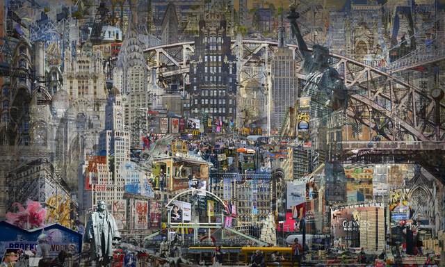 , 'Palympsestes NY,' 2018, Waterhouse & Dodd