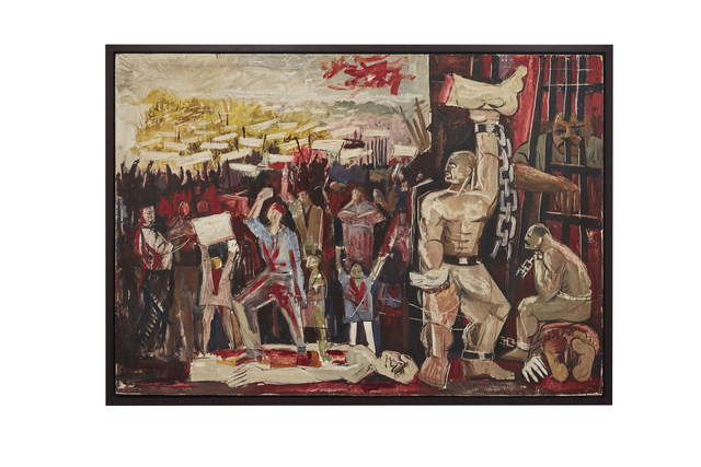 , '14 July Revolution,' , Barjeel Art Foundation