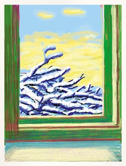 David Hockney, 'iPad drawing `No 610`, 23rd December 2010', 2019, Frank Fluegel Gallery