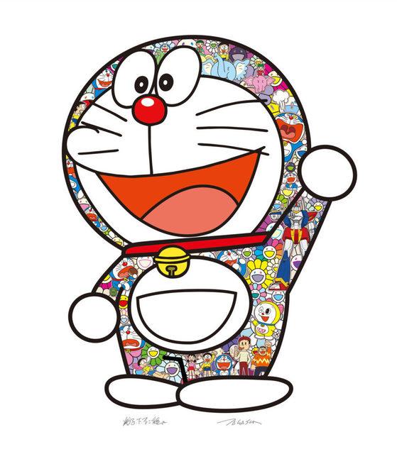 Takashi Murakami, 'Doraemon: Hip Hip Hurrah !', 2020, Vogtle Contemporary