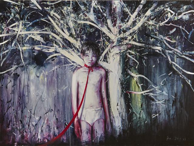 Ren Jing, 'Brave Fearless', 424, Painting, Oil on canvas, Rudolf Budja Gallery