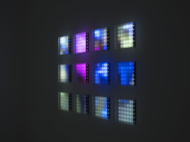 , '12 Panel,' 2017, Bryce Wolkowitz Gallery