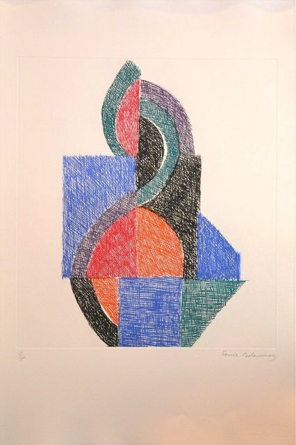 Sonia Delaunay, 'Untitled - Six Planches', 1966, Wallector