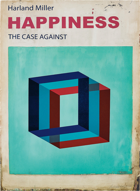 Harland Miller, 'Happiness: The Case Against', 2017, Phillips