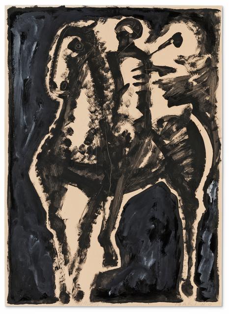 , 'Cavallo e Cavaliere,' 1954, Galerie Utermann