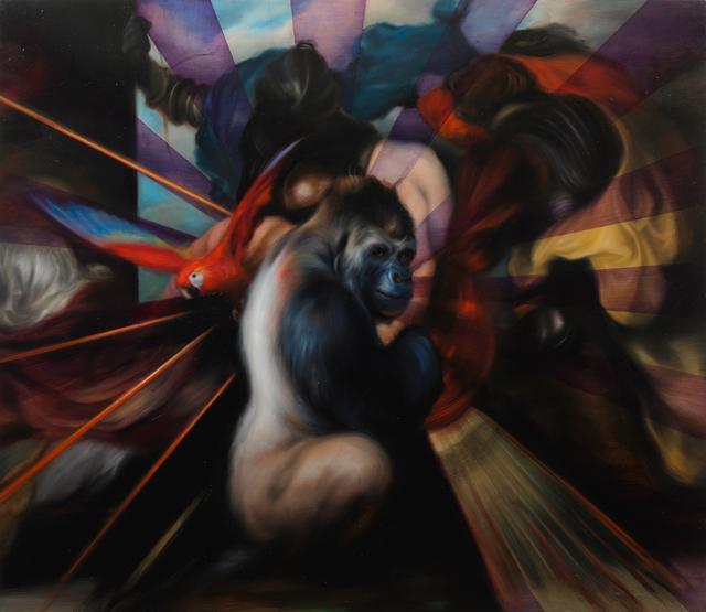 , 'Simian Disco,' 2016, Parafin