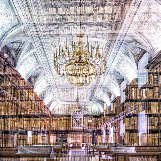 , 'Biblioteca di Brera (Milan, Italy),' 2017, Galerie de Bellefeuille